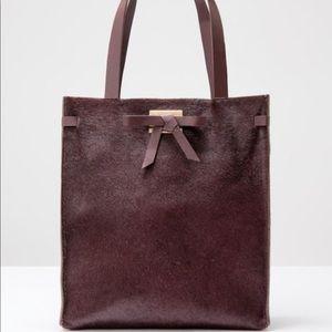Boden Pony Bow Shopper handbag